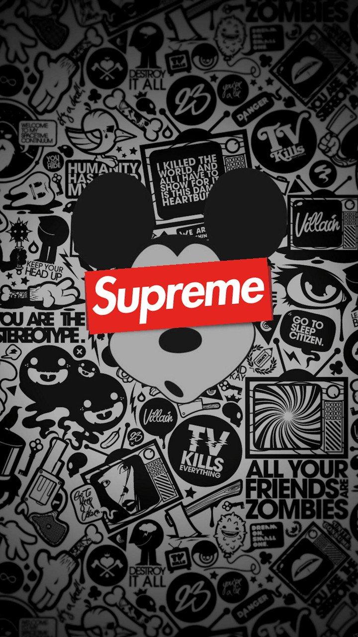 Supreme uploaded by Mvus G on We Heart It 720x1280