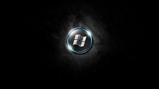 Windows 7 Wallpaper Dark Black Desktop Full HD Wallpapers 516x290