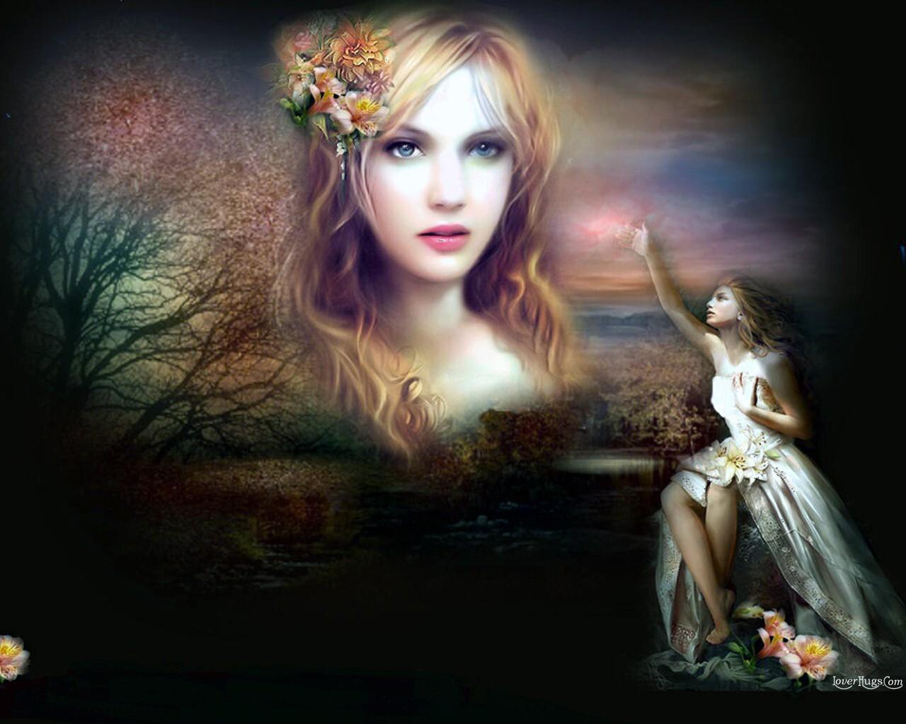 fantasy girls wallpapers