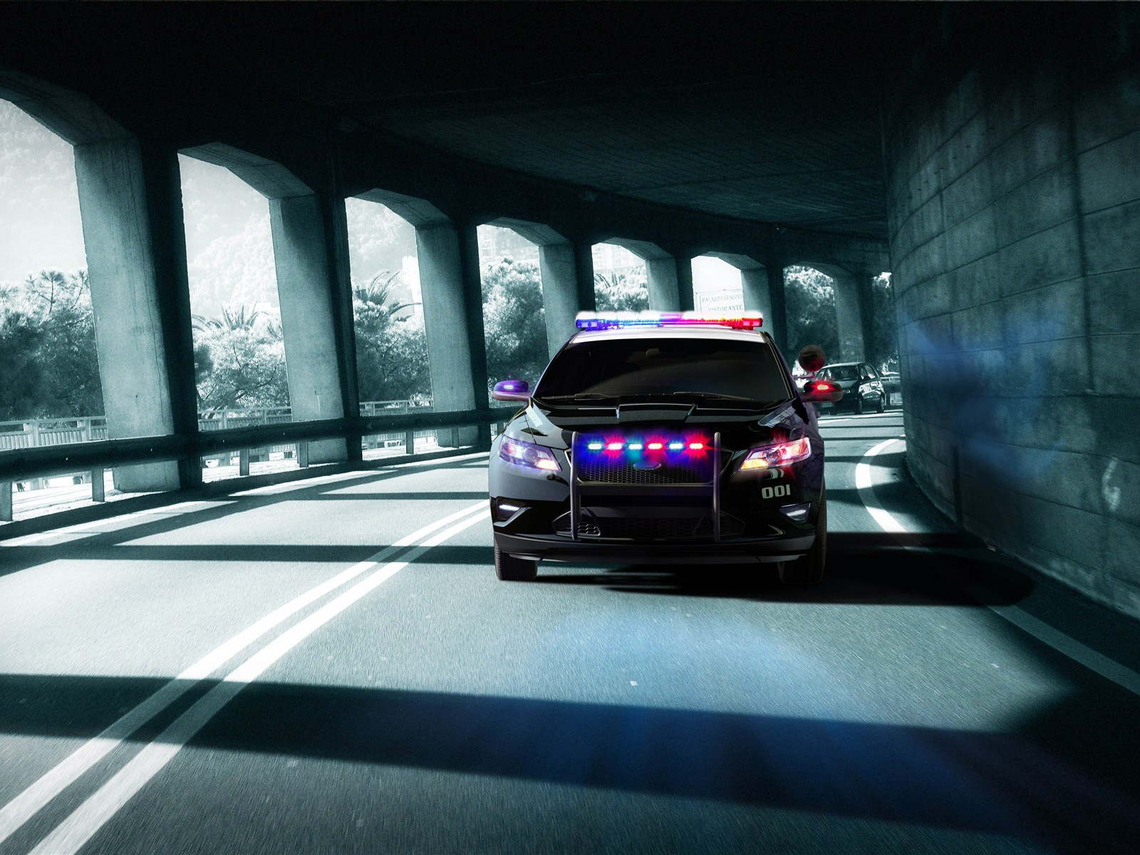 Ford Police Interceptor Wallpapers 1600x1200