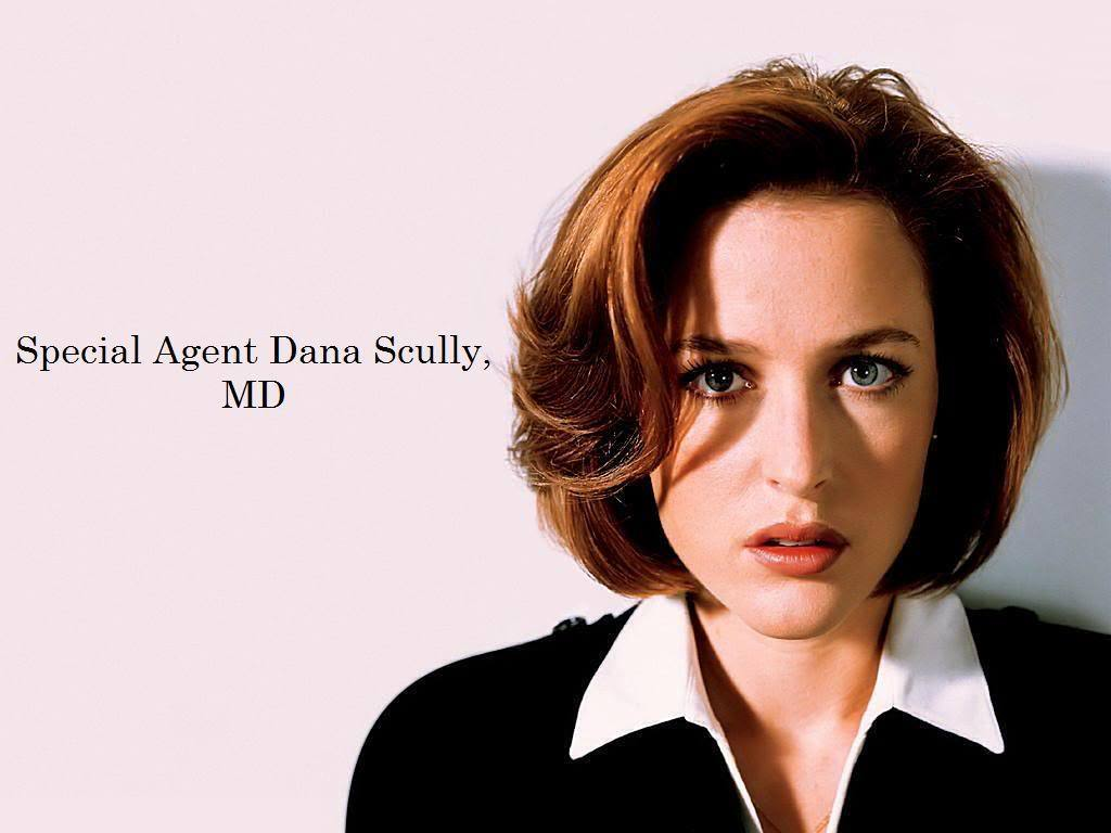 Scully   The X Files Wallpaper 22223744 1024x768
