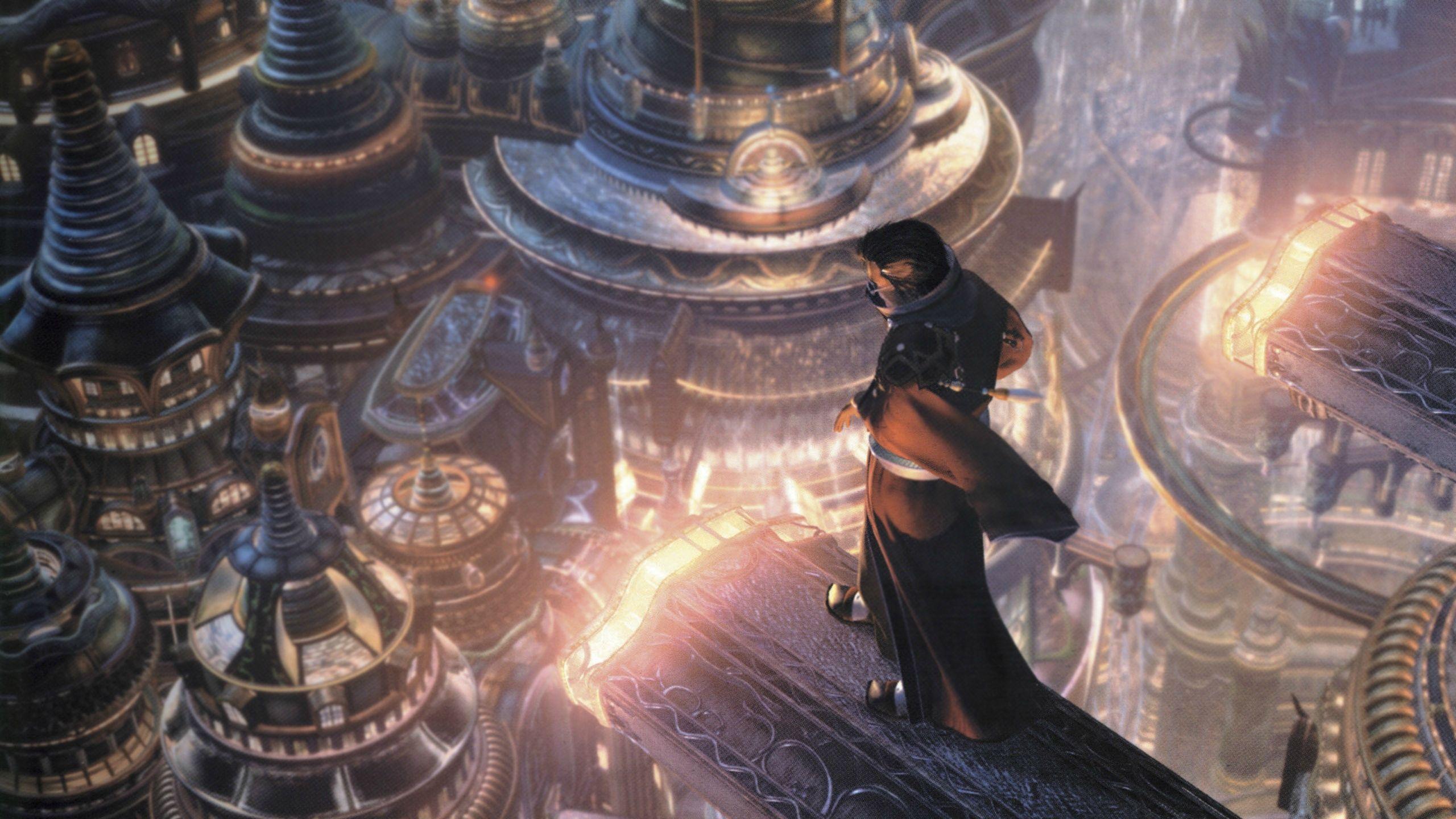 [BOTPOST] Current wallpaper Final Fantasy 10 Auron iimgurcom 2560x1440