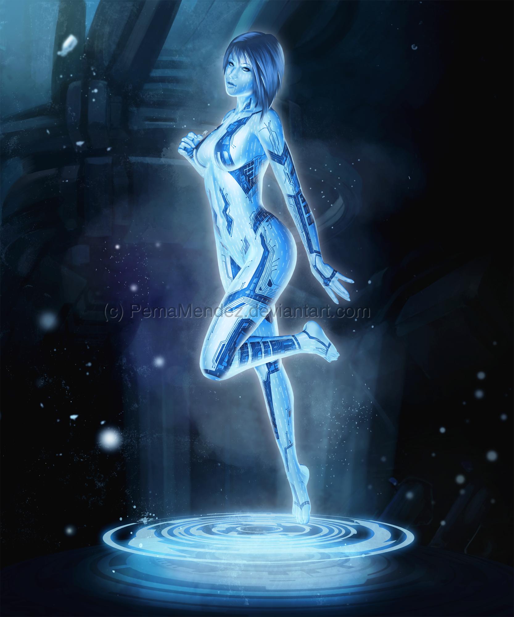 Cortana nude pics naked thumbs