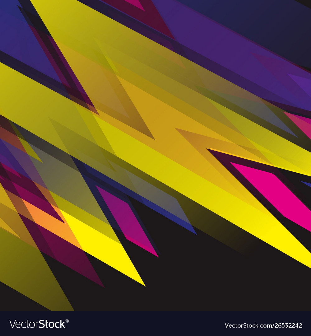 6abstract racing stripes background pinkyellow Vector Image 1000x1080