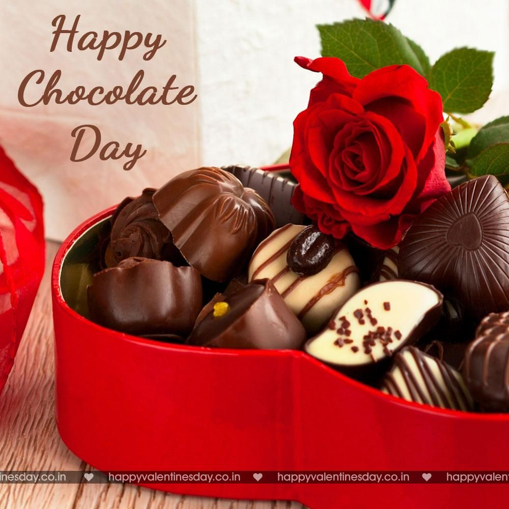 Chocolate Day happy valentine day my love Happy chocolate day 1000x1000