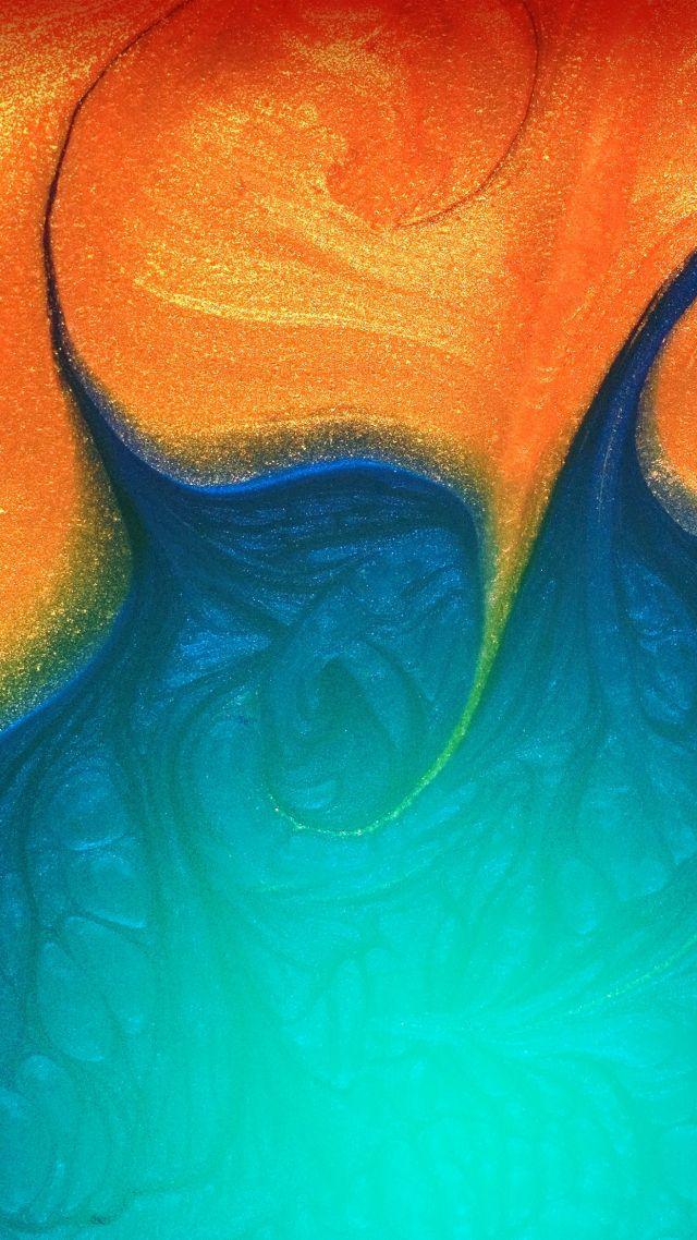 Wallpaper Samsung Galaxy A50 abstract colorful HD OS 21450 640x1138