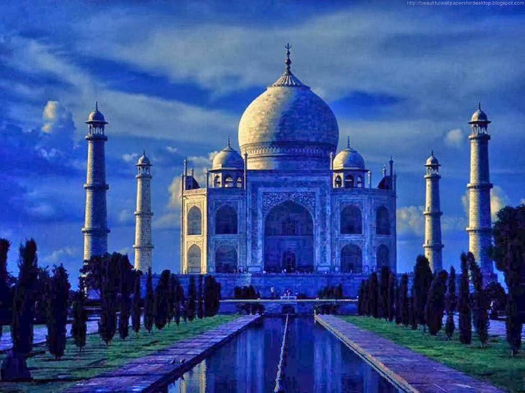 48 taj mahal wallpapers for desktop on wallpapersafari - Taj mahal background hd ...