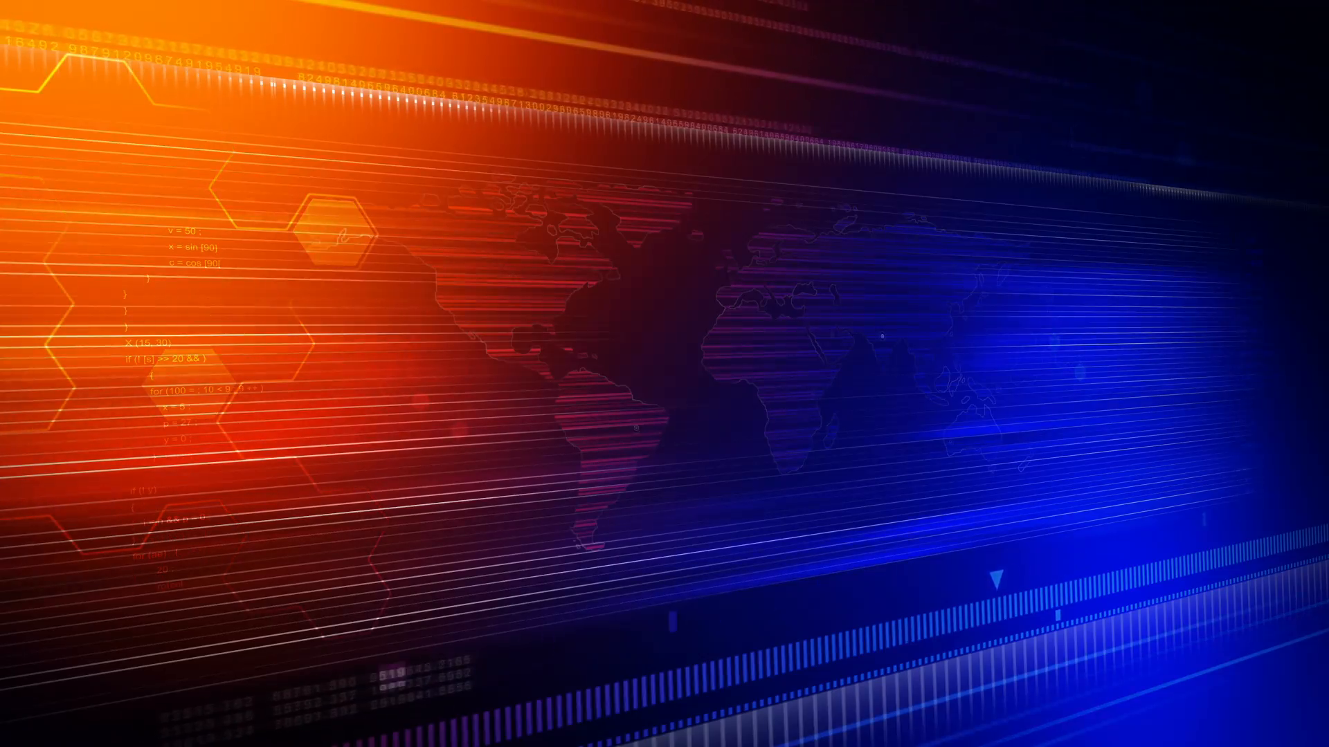 Broadcast Sports News Background Loop Motion Background 1920x1080