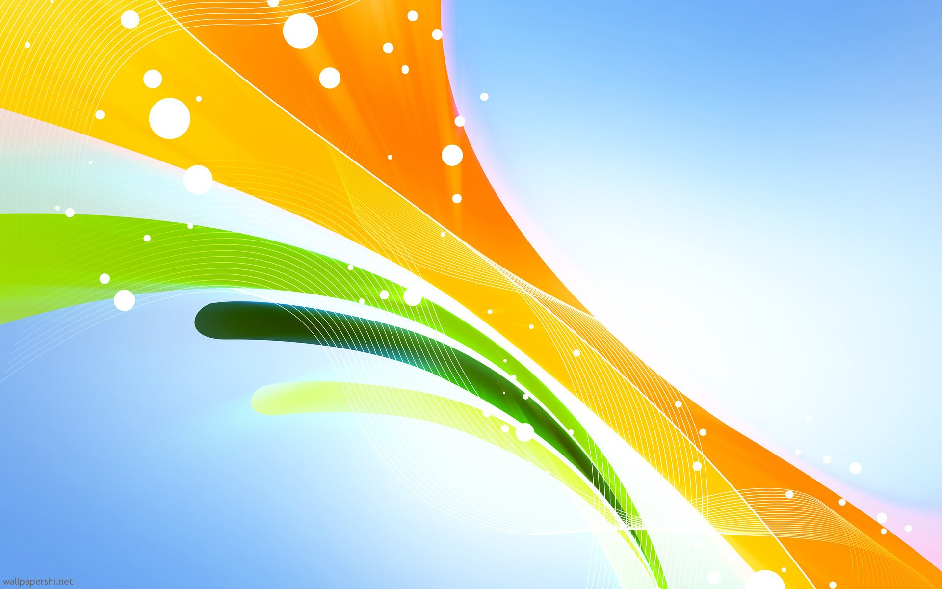 yellow green orange abstract background powerpoint backgrounds 1920x1200