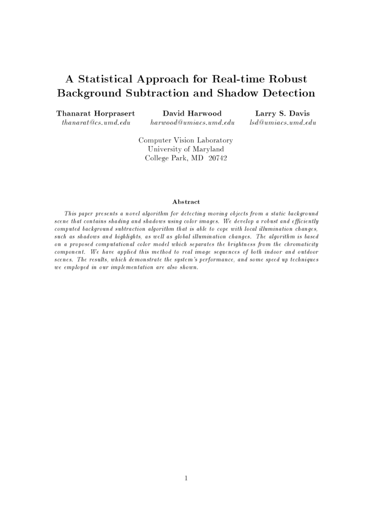 A Statistical Approach for Real time Robust Background Subtraction 791x1024