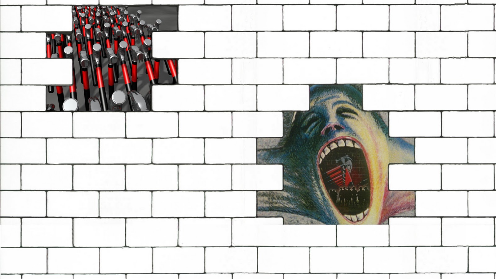 Twisteds Wallpapers Pink Floyd   The Wall 1600x900
