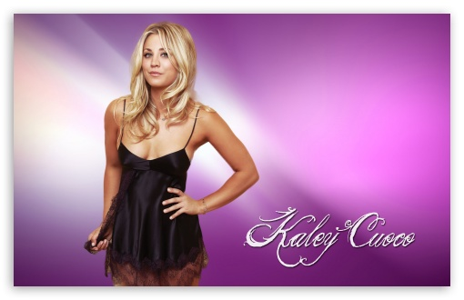Kaley Cuoco HD wallpaper for Wide 1610 Widescreen WHXGA WQXGA WUXGA 510x330