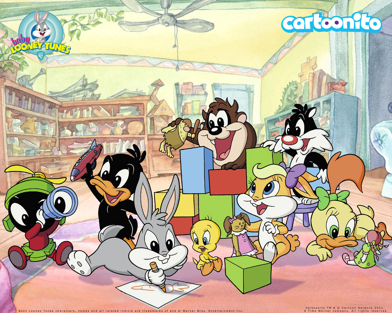 Pics Photos   Baby Looney Tunes Wallpaper 1280x1024