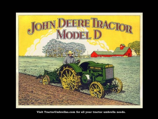 John Deere Tractor Wallpaper Border John Deere Tractor Model d 550x413