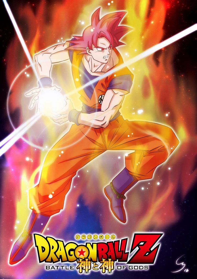 Free download Goku Super Saiyan God Widescreen Wallpaper Important