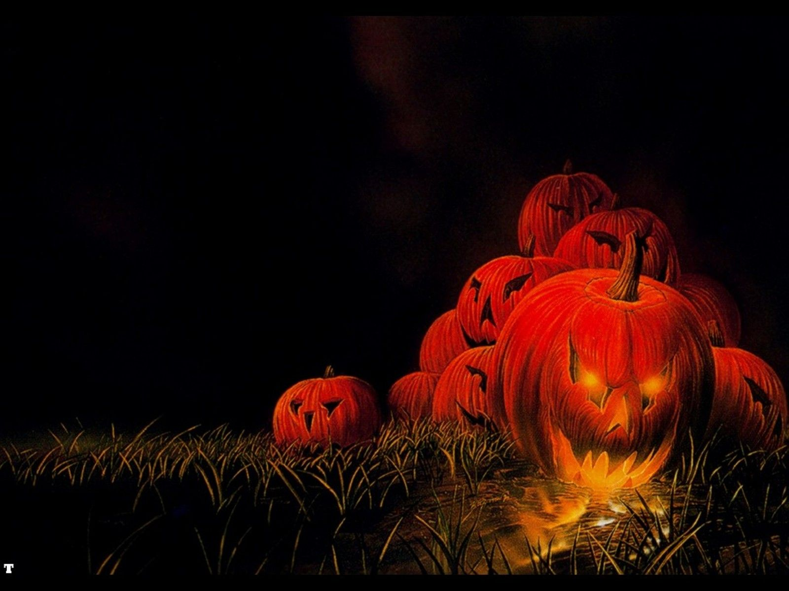 Scary Halloween Backgrounds HD 1600x1200