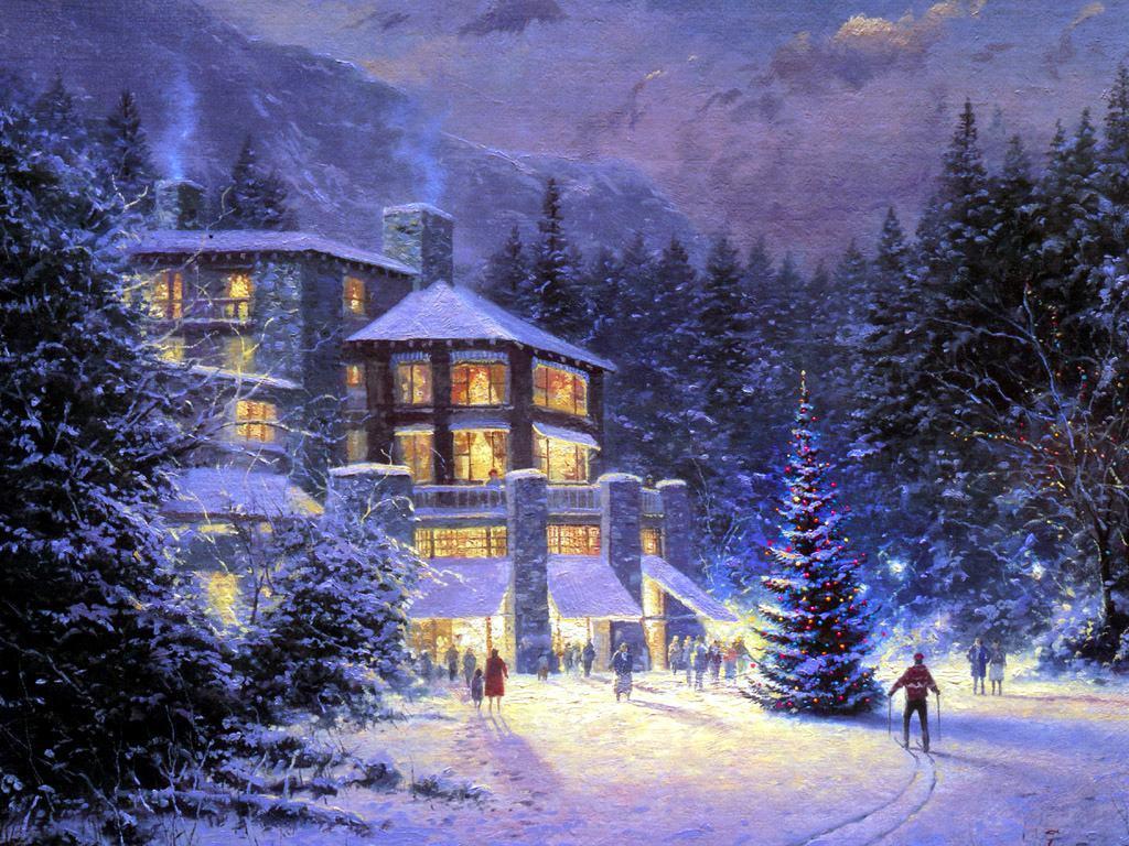 Winter Scenes Desktop Wallpapers - Wallpaper Cave