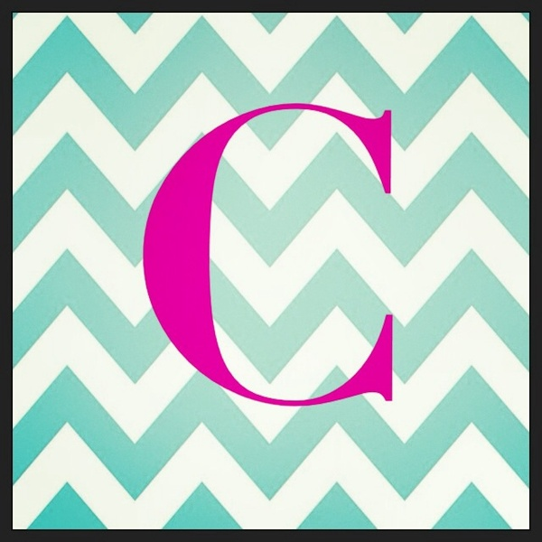 chevron initials wallpaper with o - photo #28