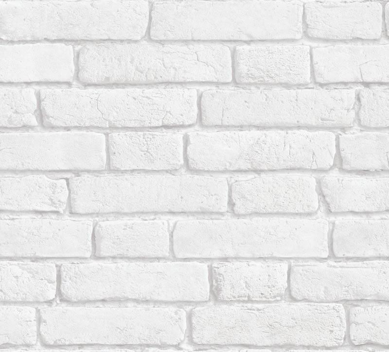 brick wallpaper white 2015   Grasscloth Wallpaper 800x725