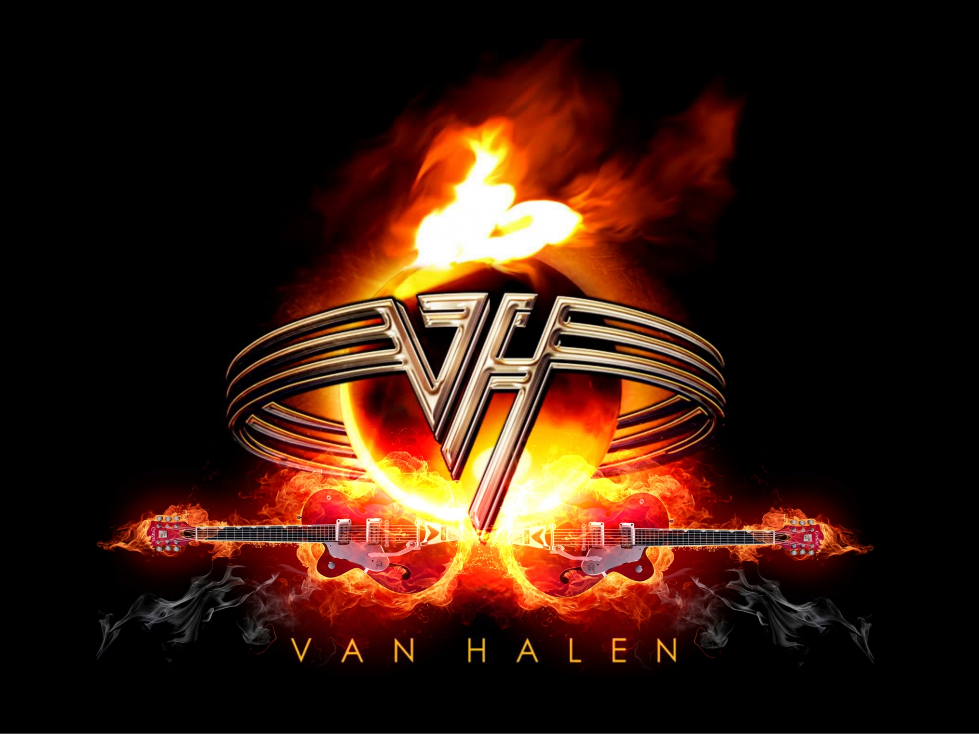 VAN HALEN heavy metal hard rock bands guitar e wallpaper 1920x1440