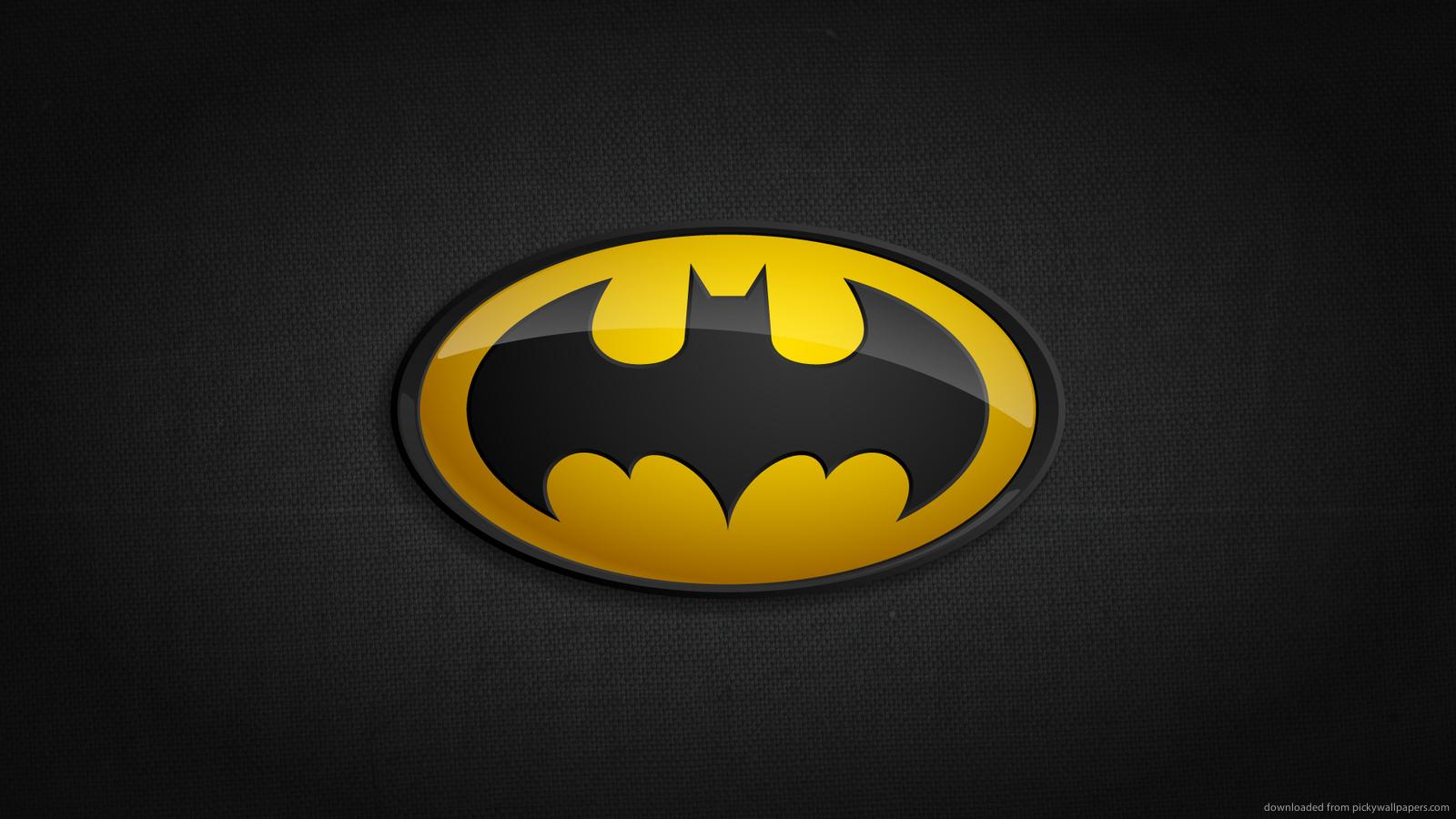 Superheroes Logos Wallpaper Batman Classic Logo For