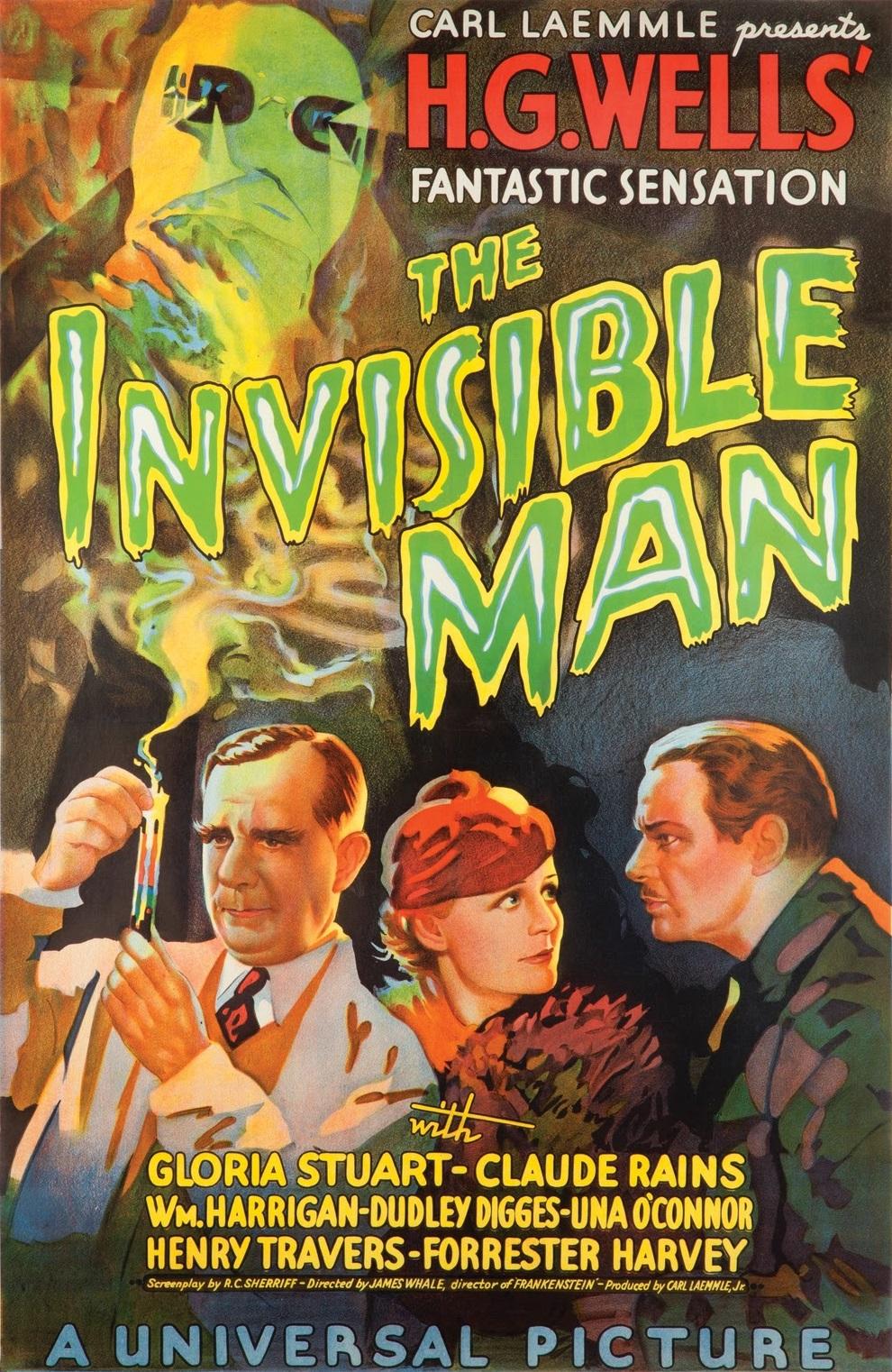 The Invisible Man 1933   IMDb 990x1522
