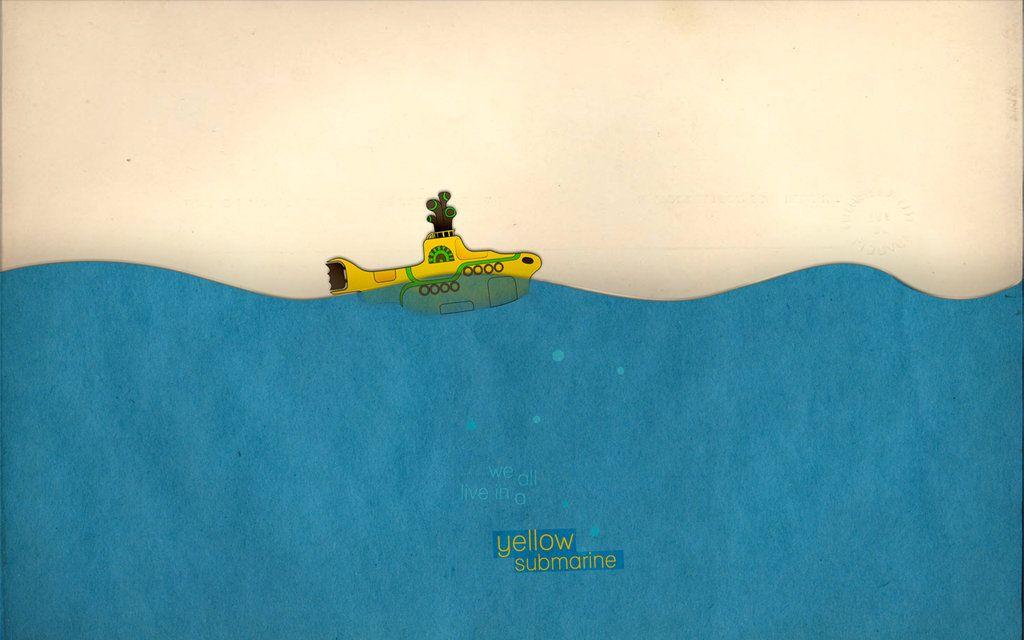 Yellow Submarine Wallpapers 1024x640