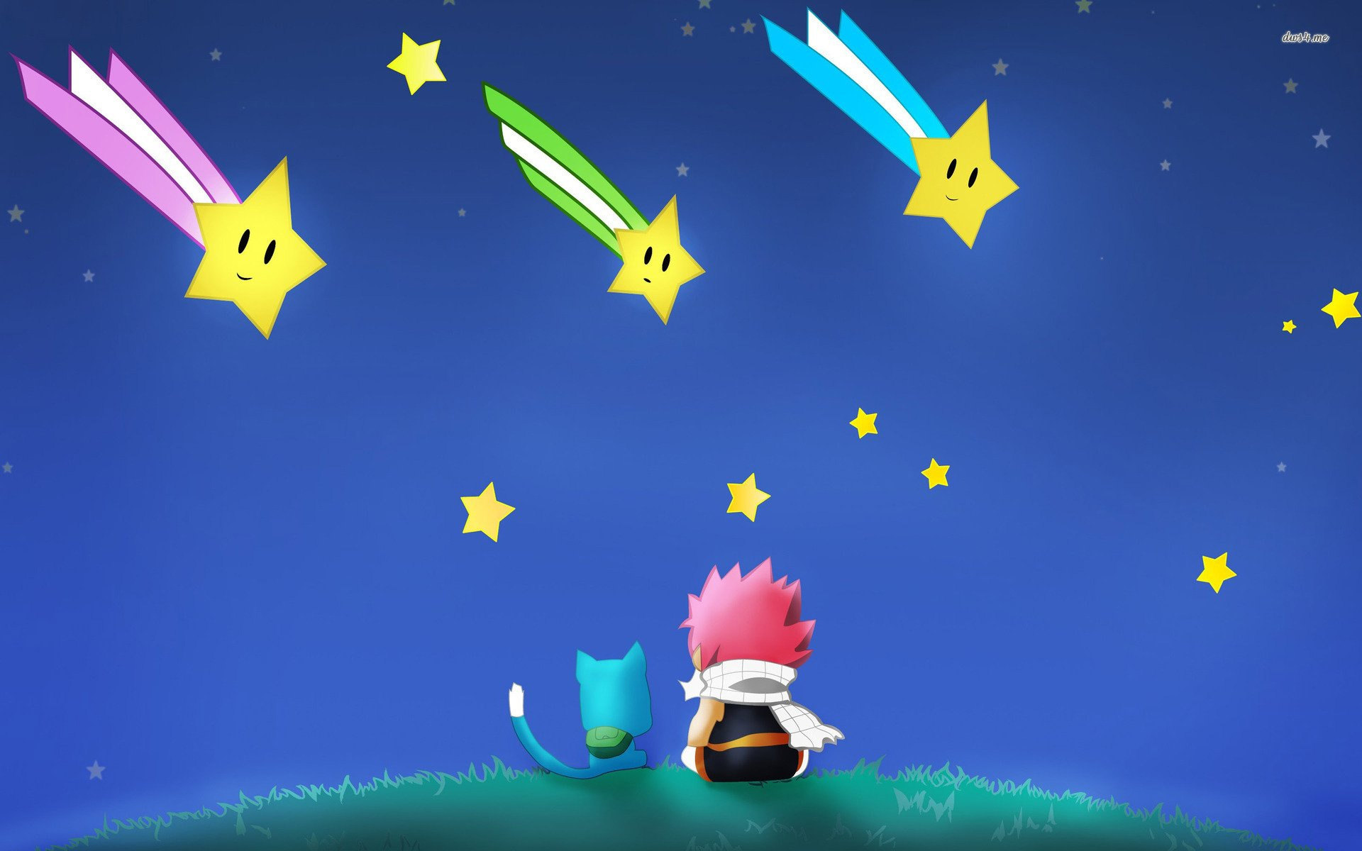 Happy an Natsu Full HD Wallpaper and Background 1920x1200