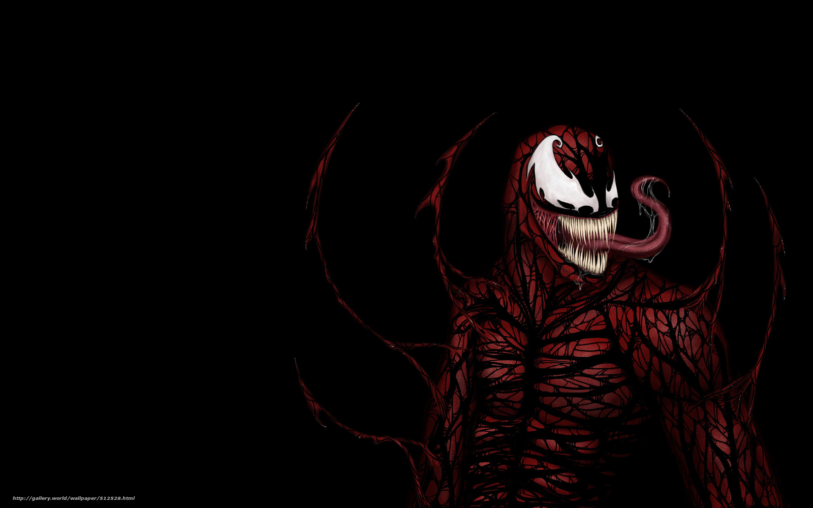spiderman wallpapers creature black wallpaper background red 1600x1000