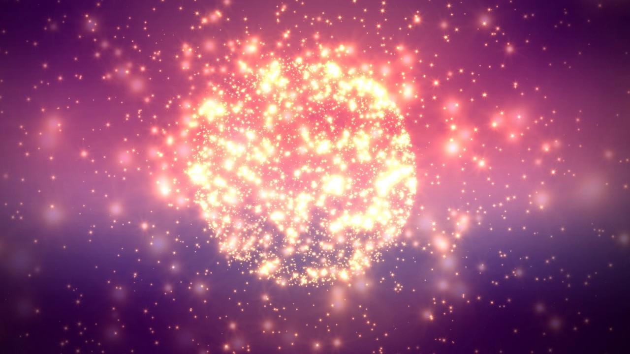 4K 1000Min FREE LYRICS VIDEO BACKGROUND Sparkling Stars 1280x720