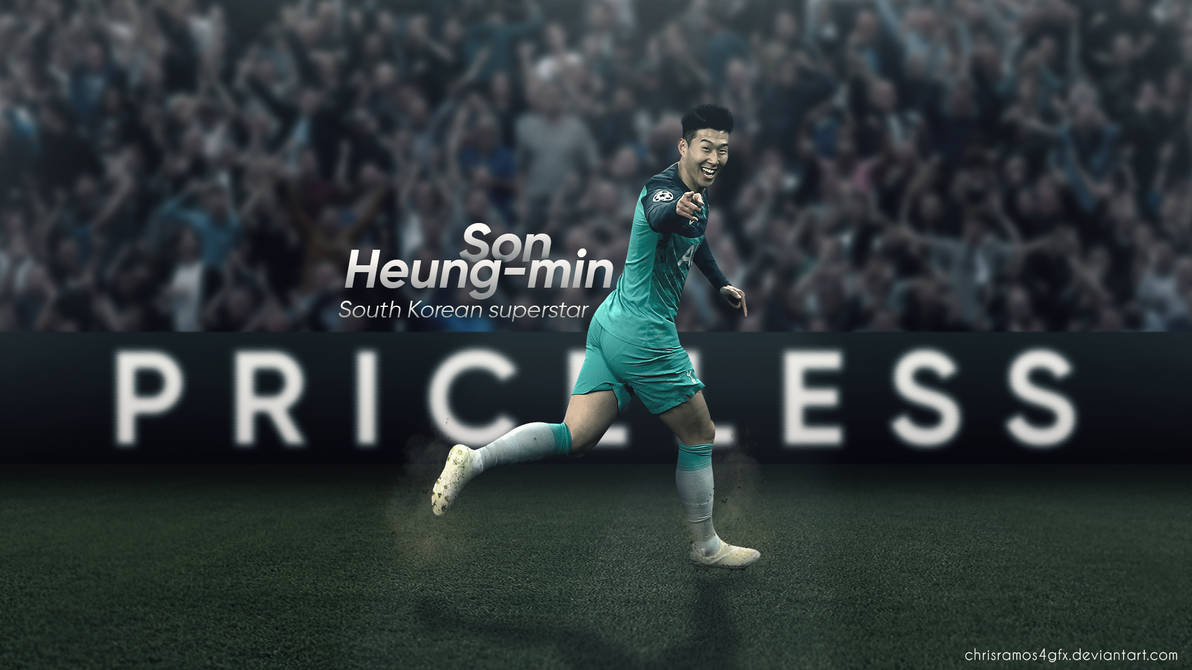 Son Heung min Priceless Wallpaper by ChrisRamos4GFX 1192x670