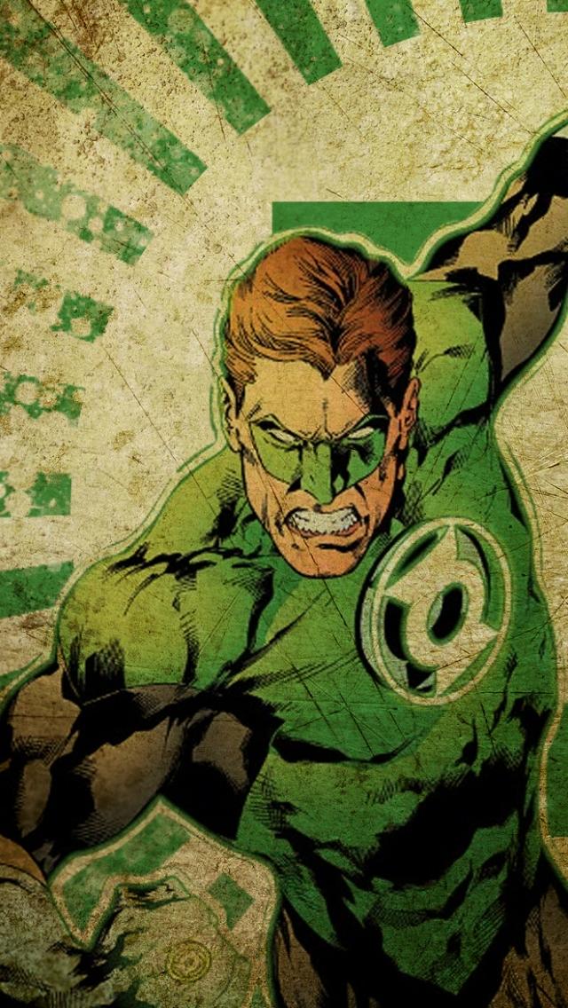 Green Lantern iPhone 5 Wallpaper 640x1136 640x1136