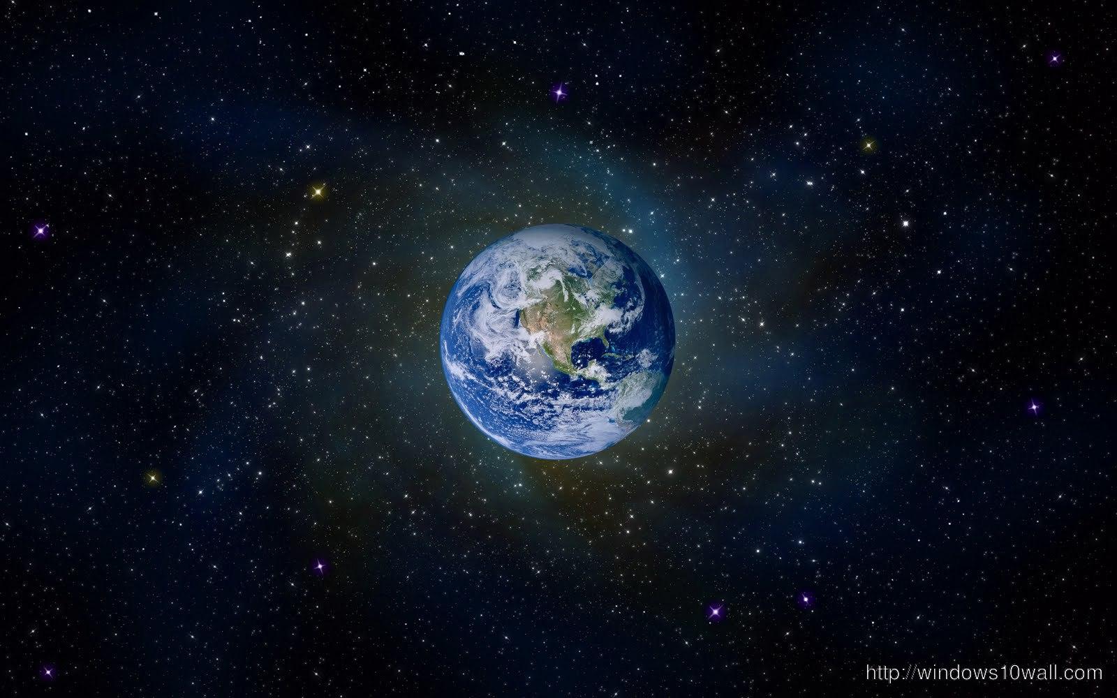 49+ Live Earth Wallpaper Windows 10 on WallpaperSafari
