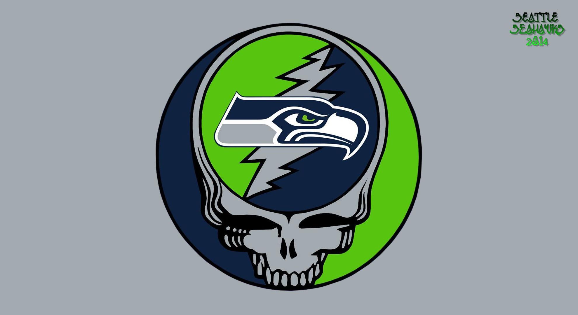 Seattle Seahawks Steal Your Face Desktop Wallpaper 1980x1080