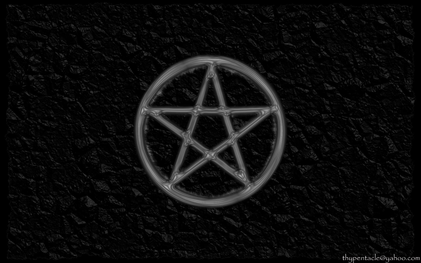 wiccan pentagram wallpaper - photo #5