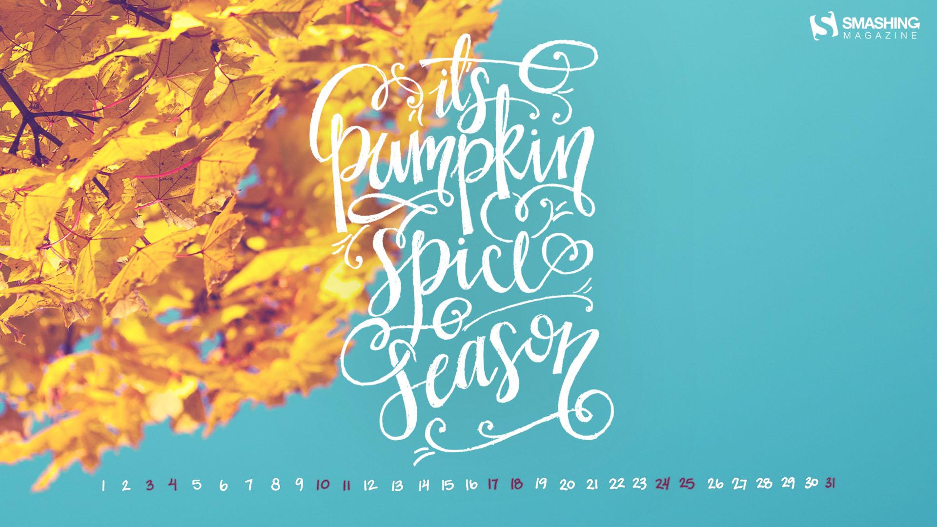 Basic October Desktop Calendars Wallpapers October 2015 1920x1080