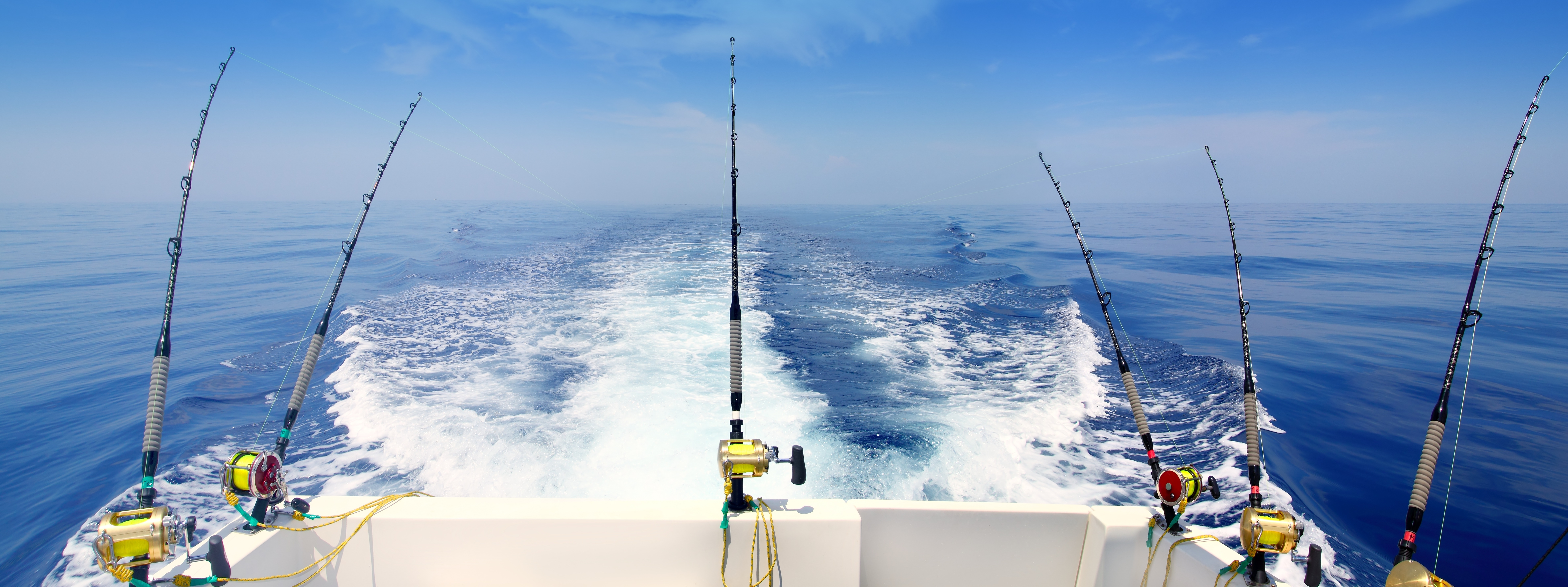 Deep Sea Fishing Wallpaper Deep Sea Fishing 7795x2920