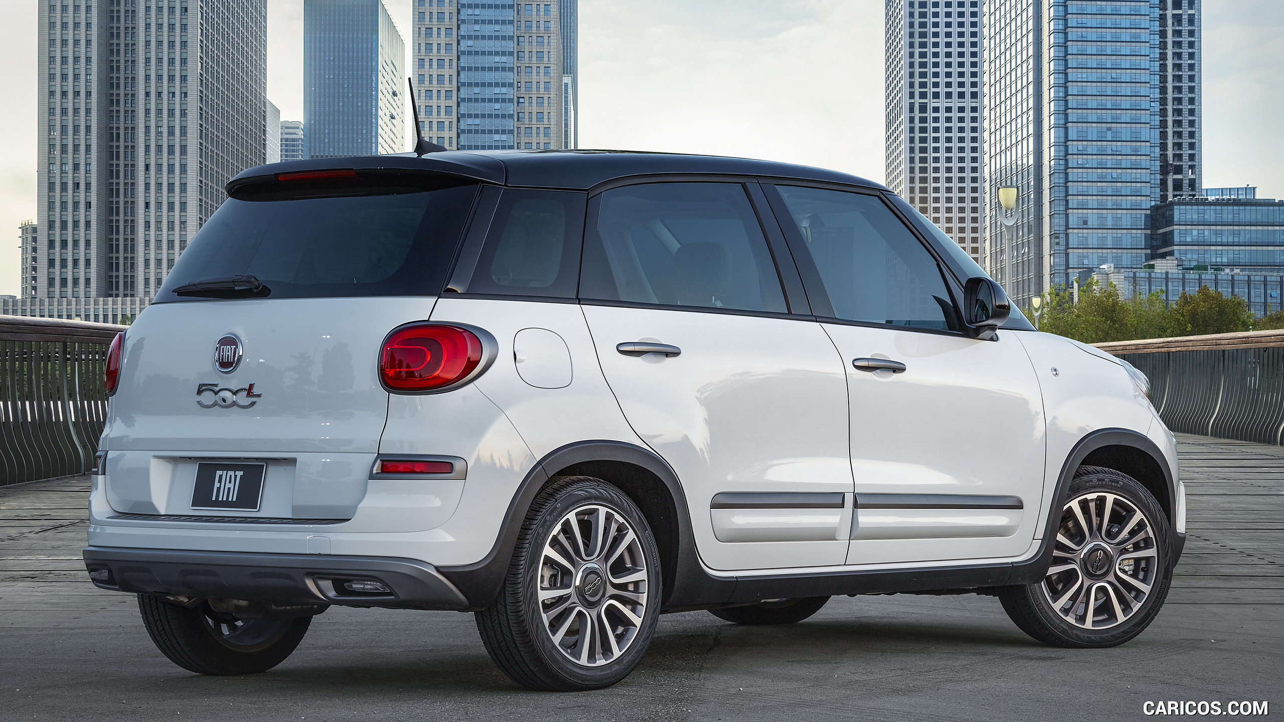2019 Fiat 500L Trekking   Rear Three Quarter HD Wallpaper 17 2560x1440