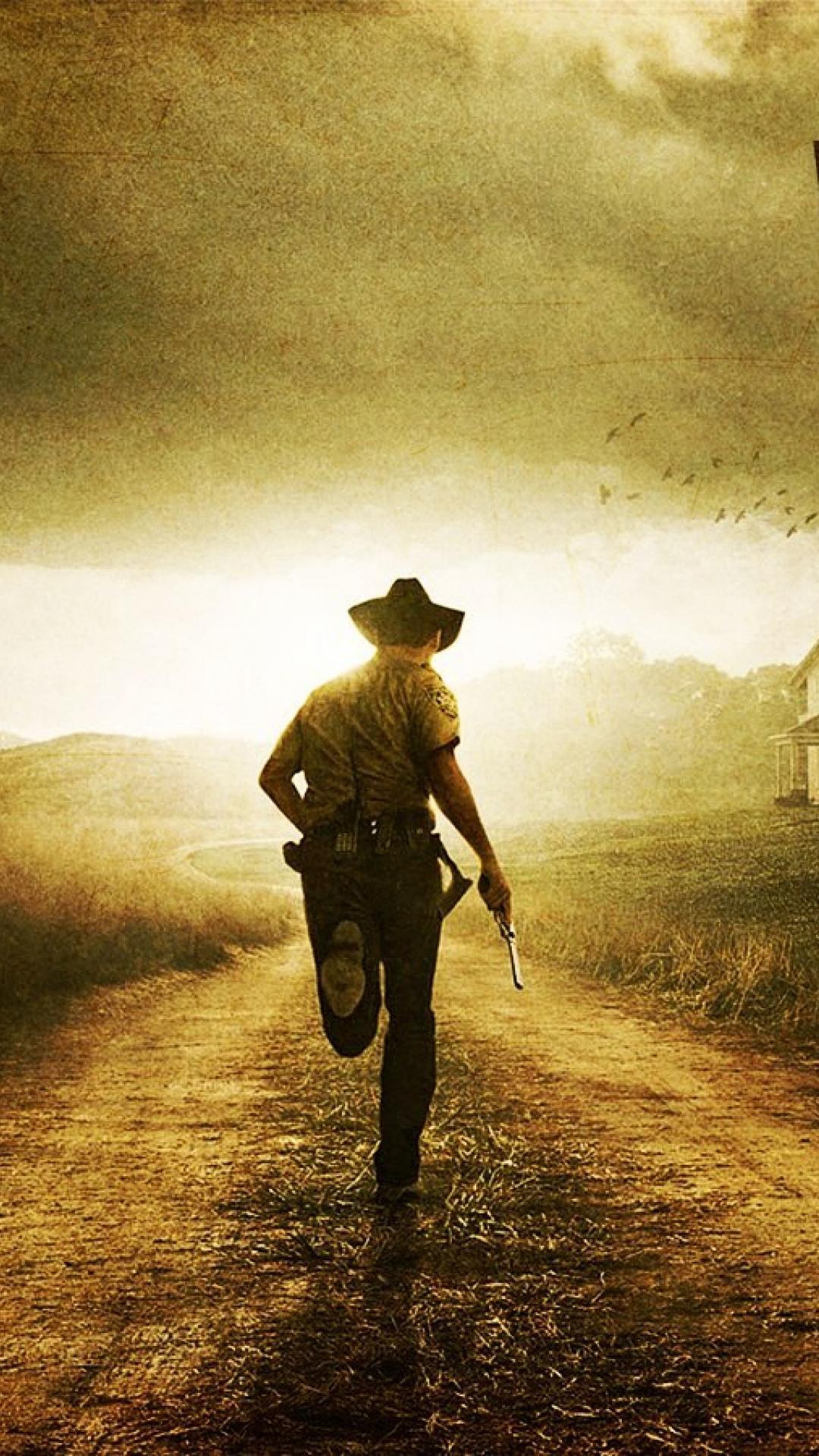 46 Walking Dead Iphone Wallpaper On Wallpapersafari