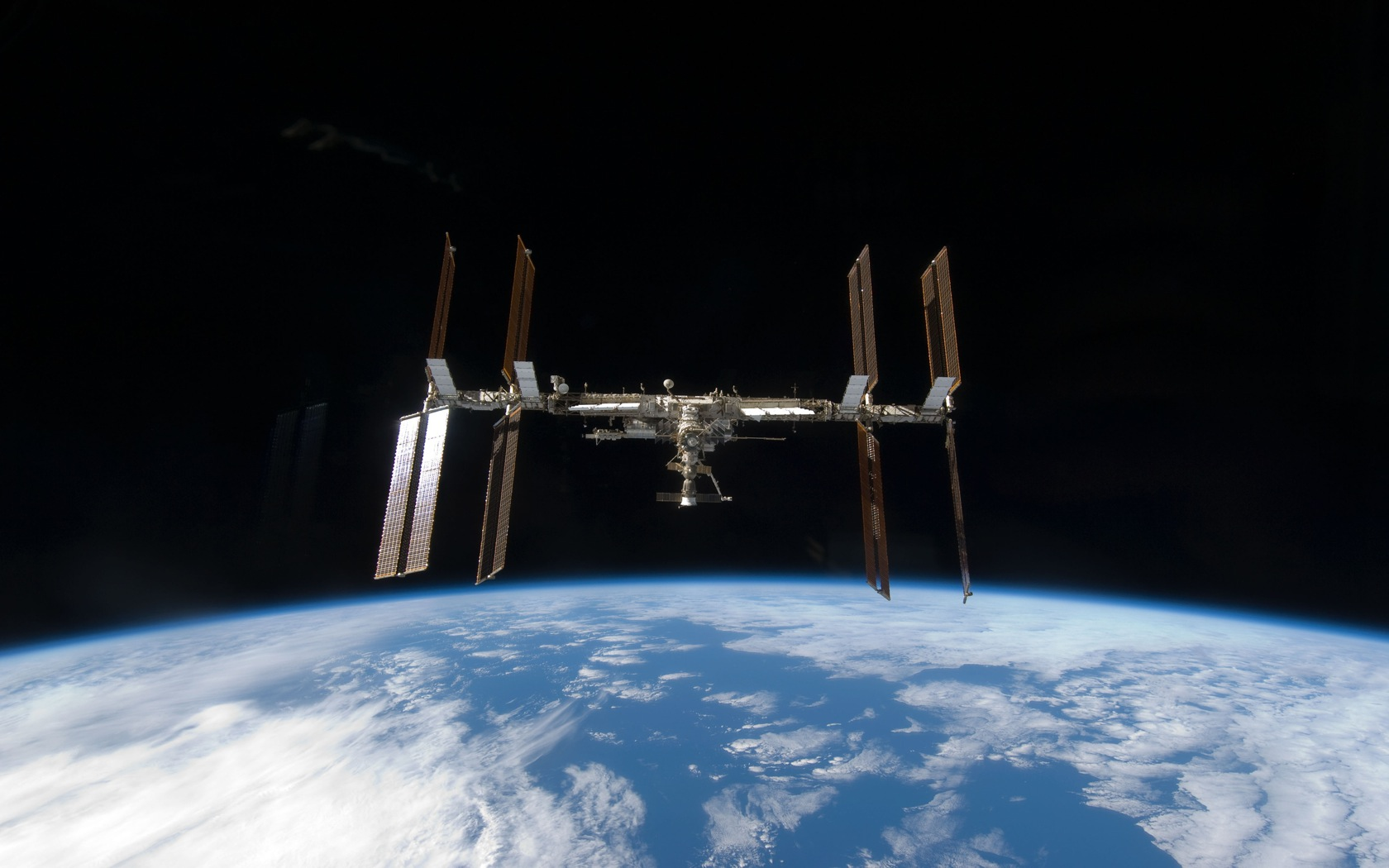 Iss Wallpapers Hd: 1680x1050px International Space Station Wallpaper