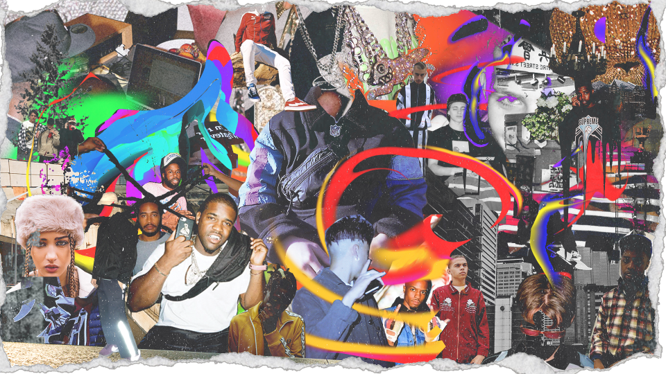 How Math Creates Collage Art for ASAP Mob HYPEBEAST 960x540