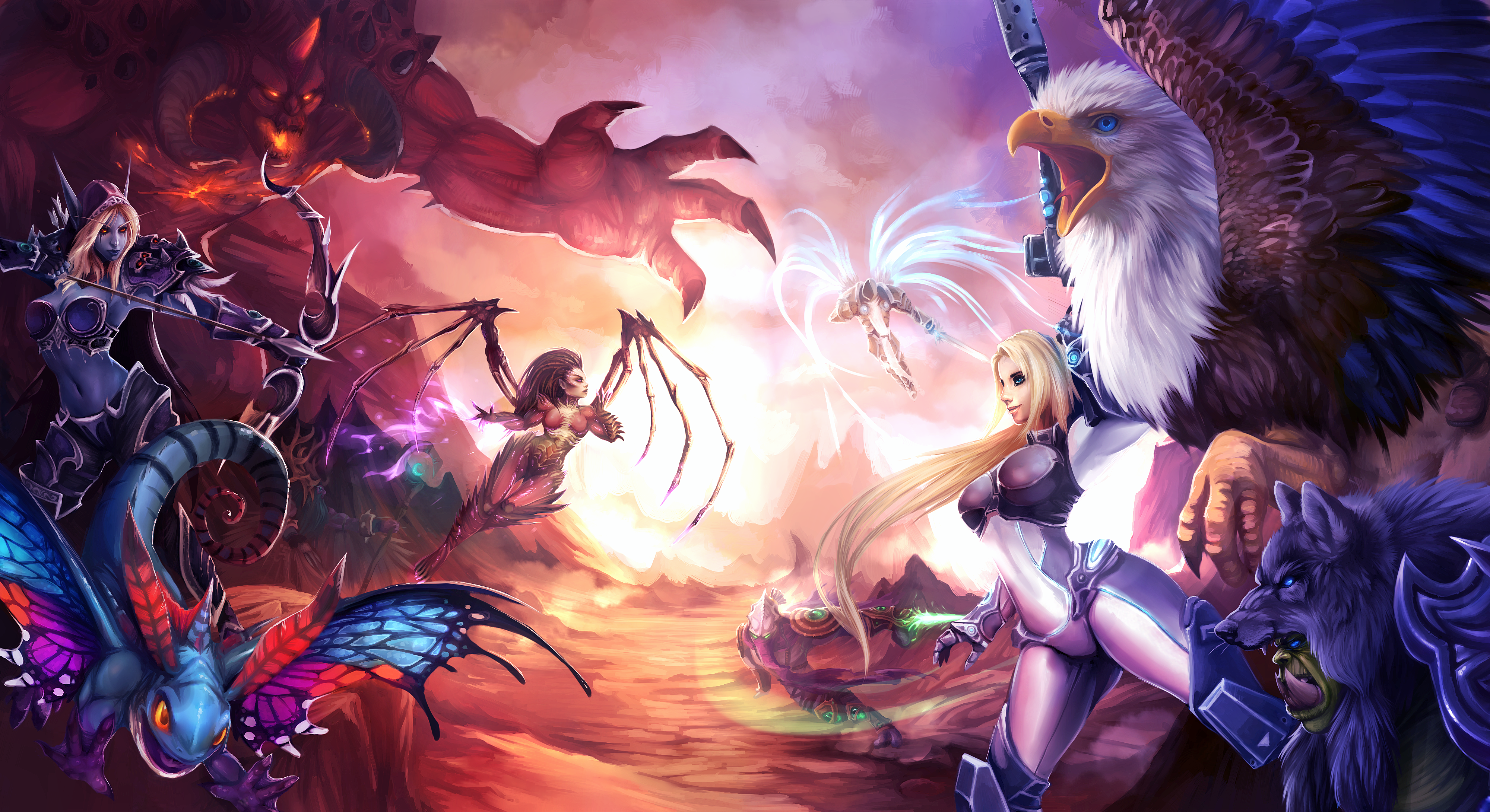 Free Download 126 Heroes Of The Storm Hd Wallpapers Background