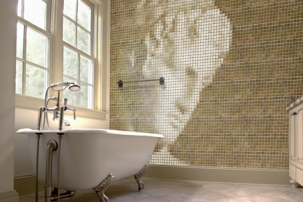 ... Look Like Real Mosaic Tile. The look of Real Tile at Wallpaper Prices