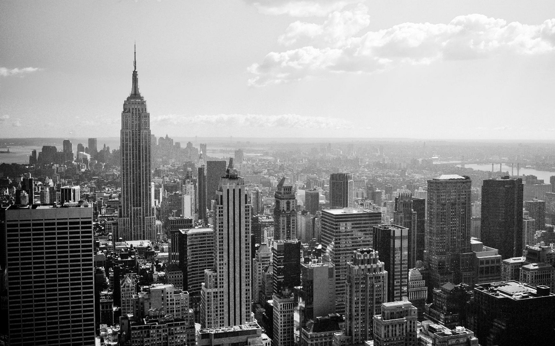 Black And White New York Wallpaper   Widescreen HD Wallpapers 1920x1200