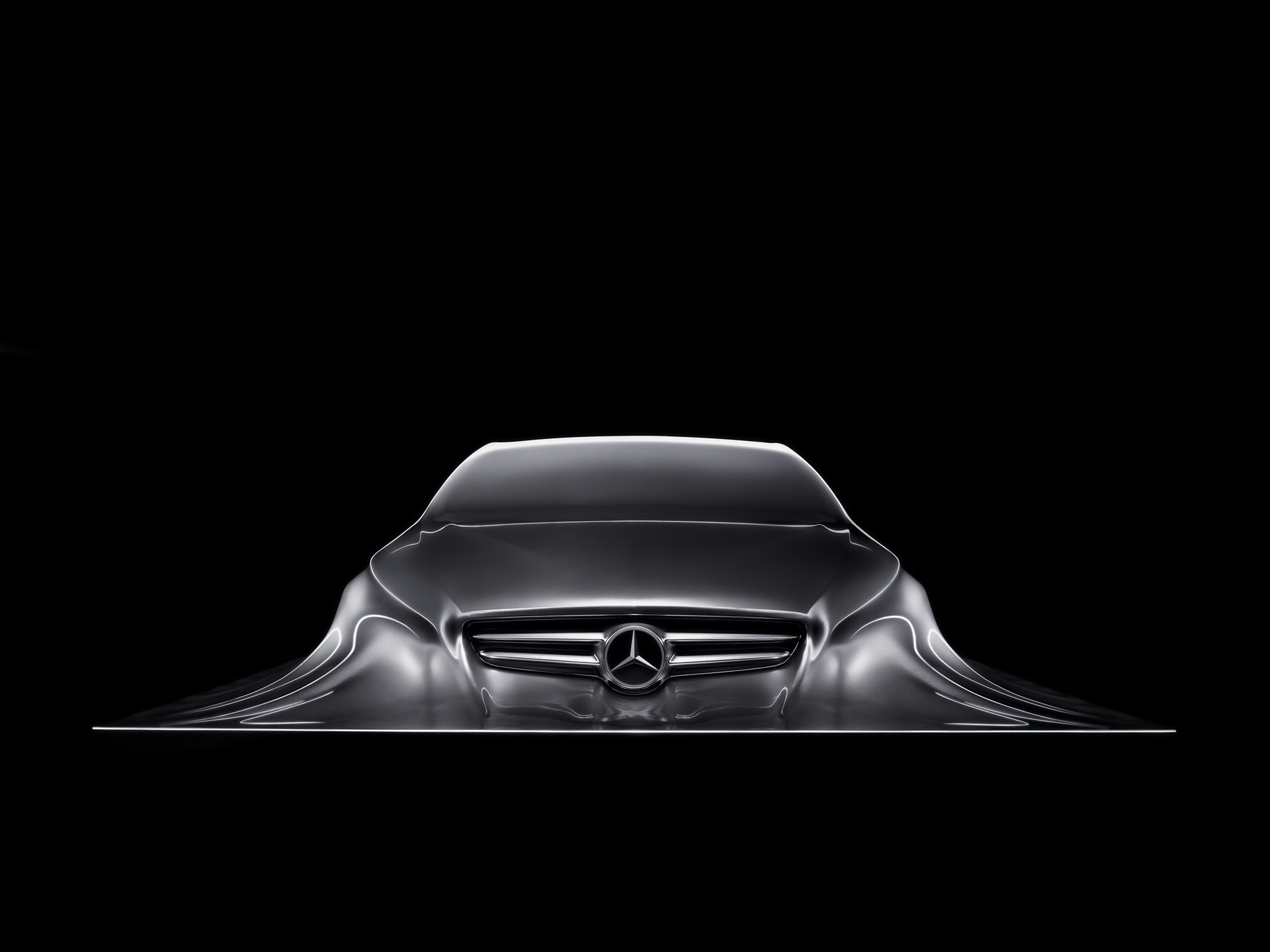 Mercedes Benz Design Sculpture 1 desktop PC and Mac wallpaper 1920x1440