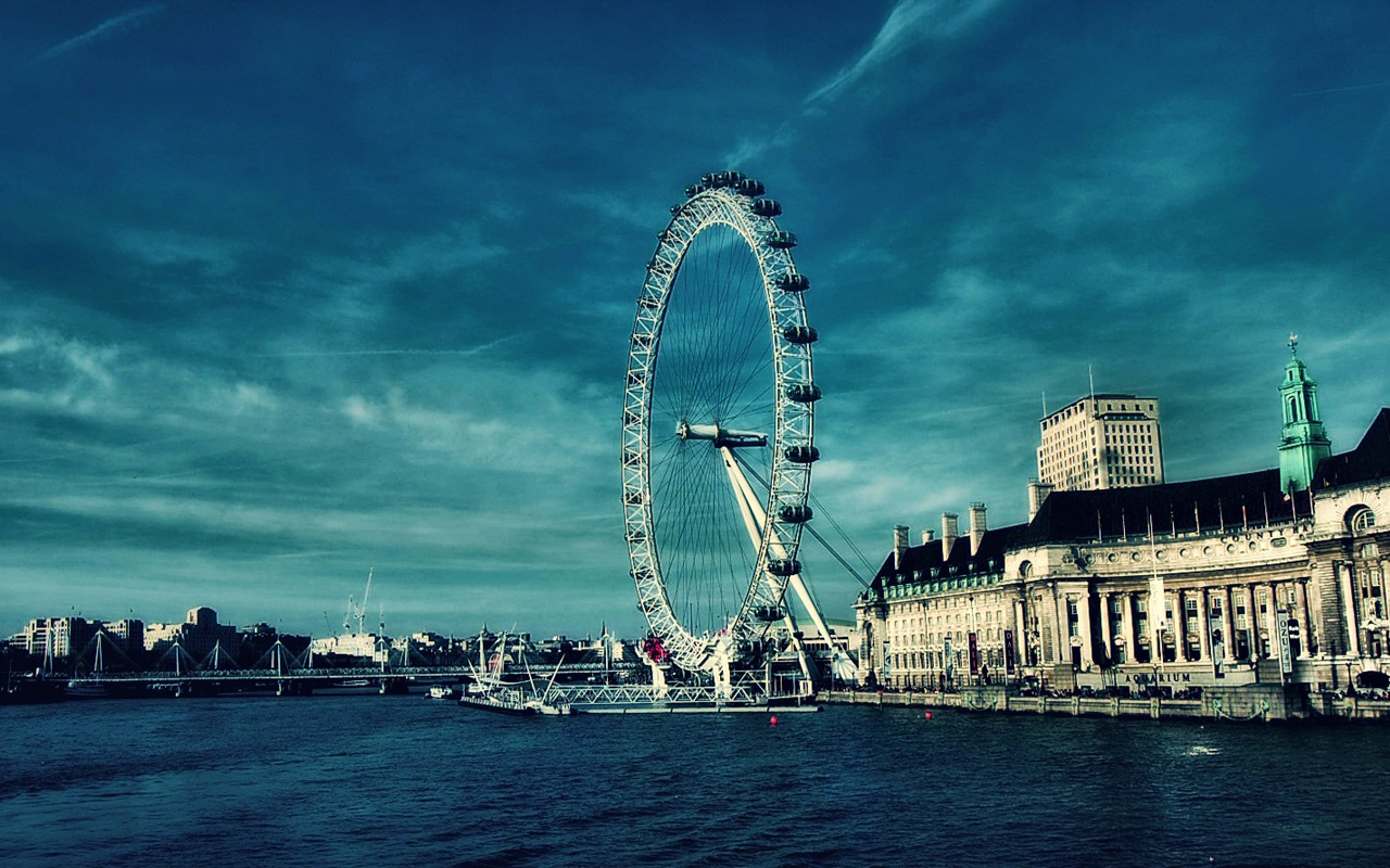 London Eye Wallpaper FREE WALLPAPERS 1280x800