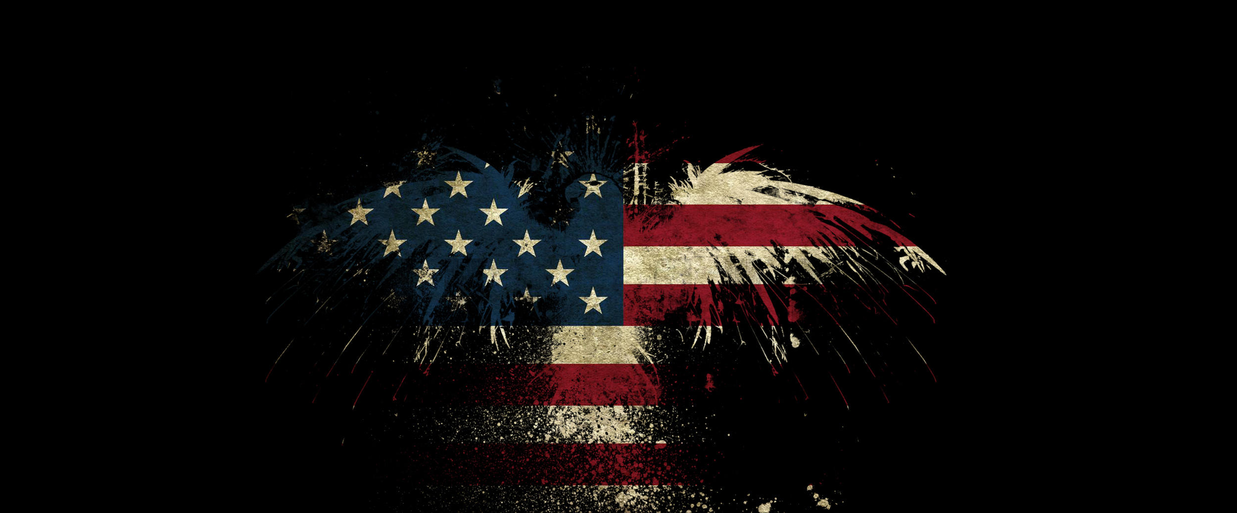 united states flag if you can find me HD Wallpaper   World 707621 2500x1038