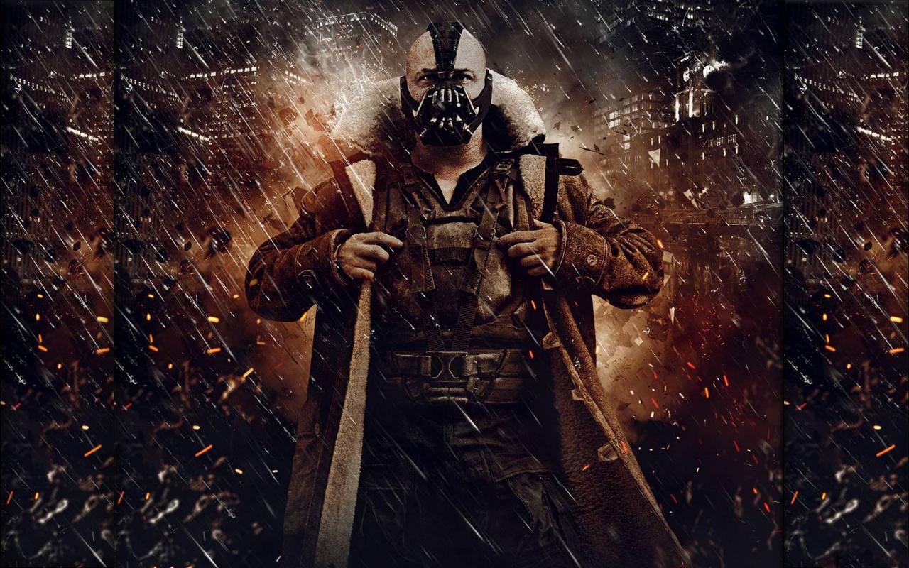 Dark Knight Rises Bane Movie Wallpaper 1280x800 Wallpapers