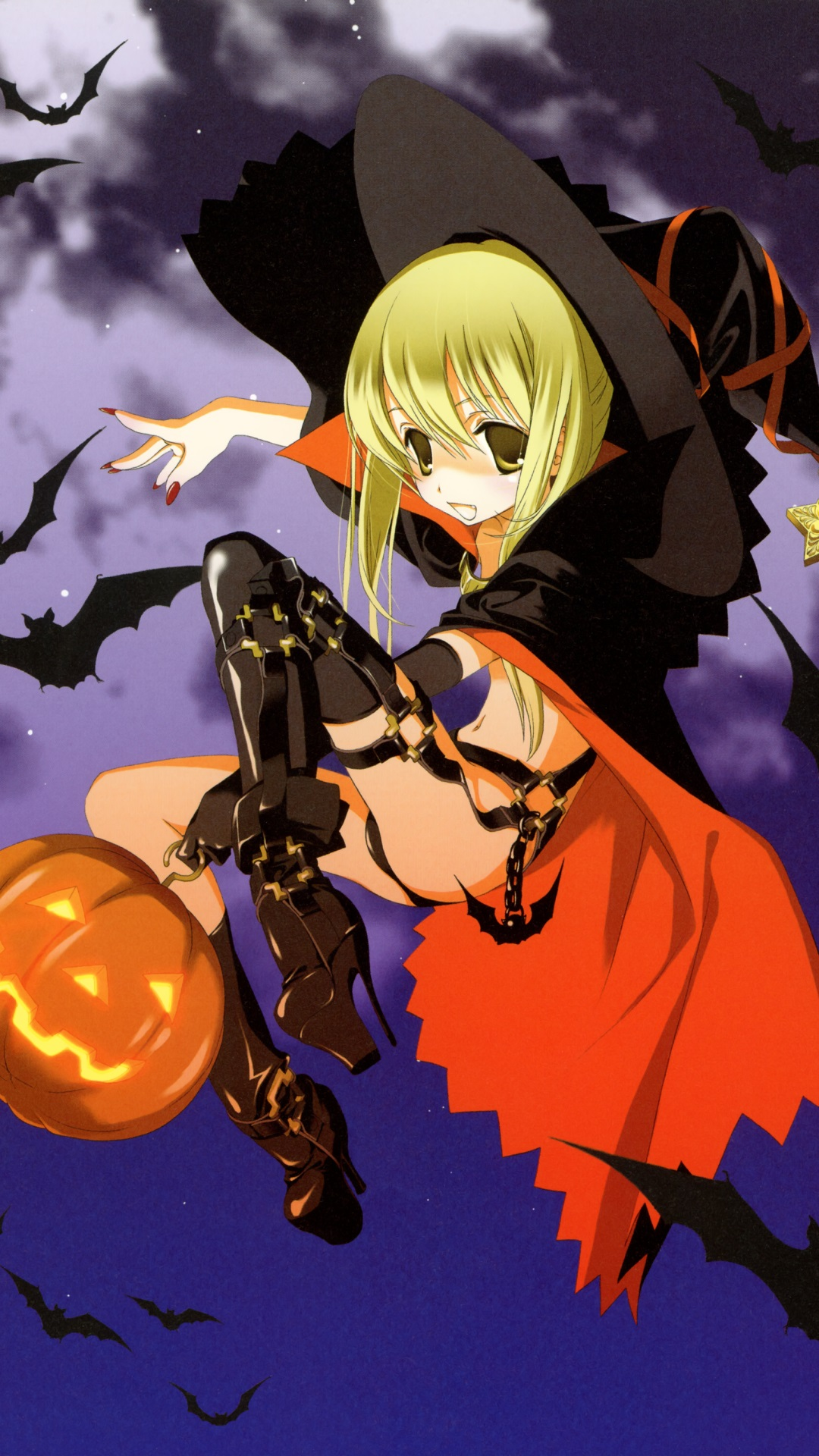 Anime Halloween 2013Sony Xperia Z wallpaper1080x1920 1 1080x1920