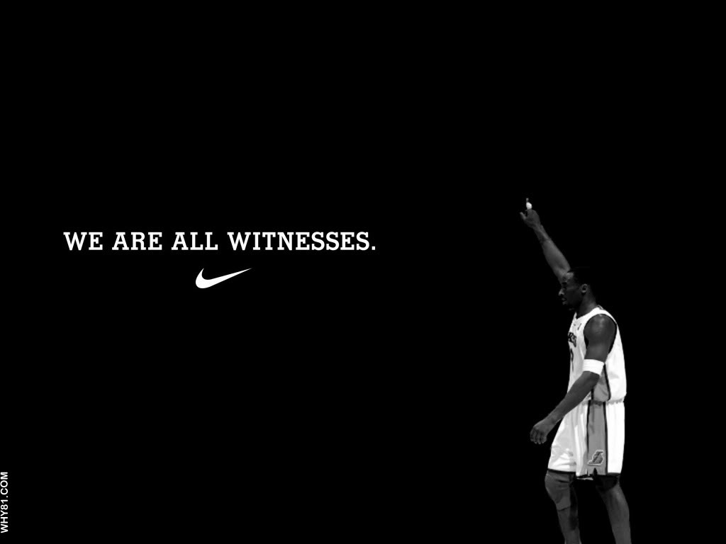Lebron James Wallpaper We Are All Witnesses Lebron james we are all 1024x768